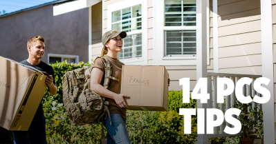 14 PCS Tips From Military Spouses USAA Community.png