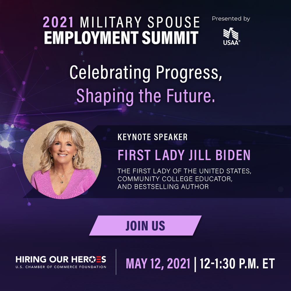 2021 Military Spouse Virtual Employment Summit May 12