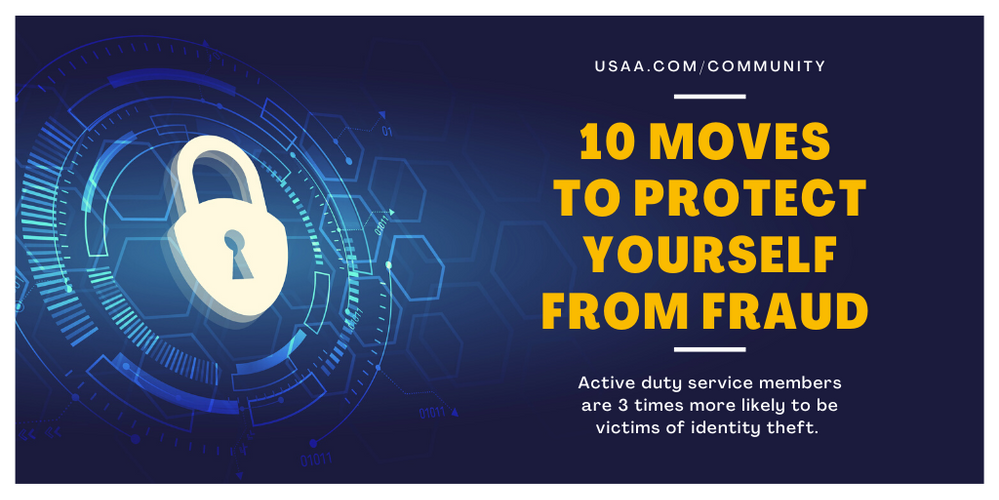 10 Moves to Protect Yourself from Fraud