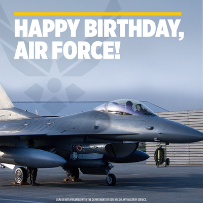 Happy 74th Birthday to The United States Air Force