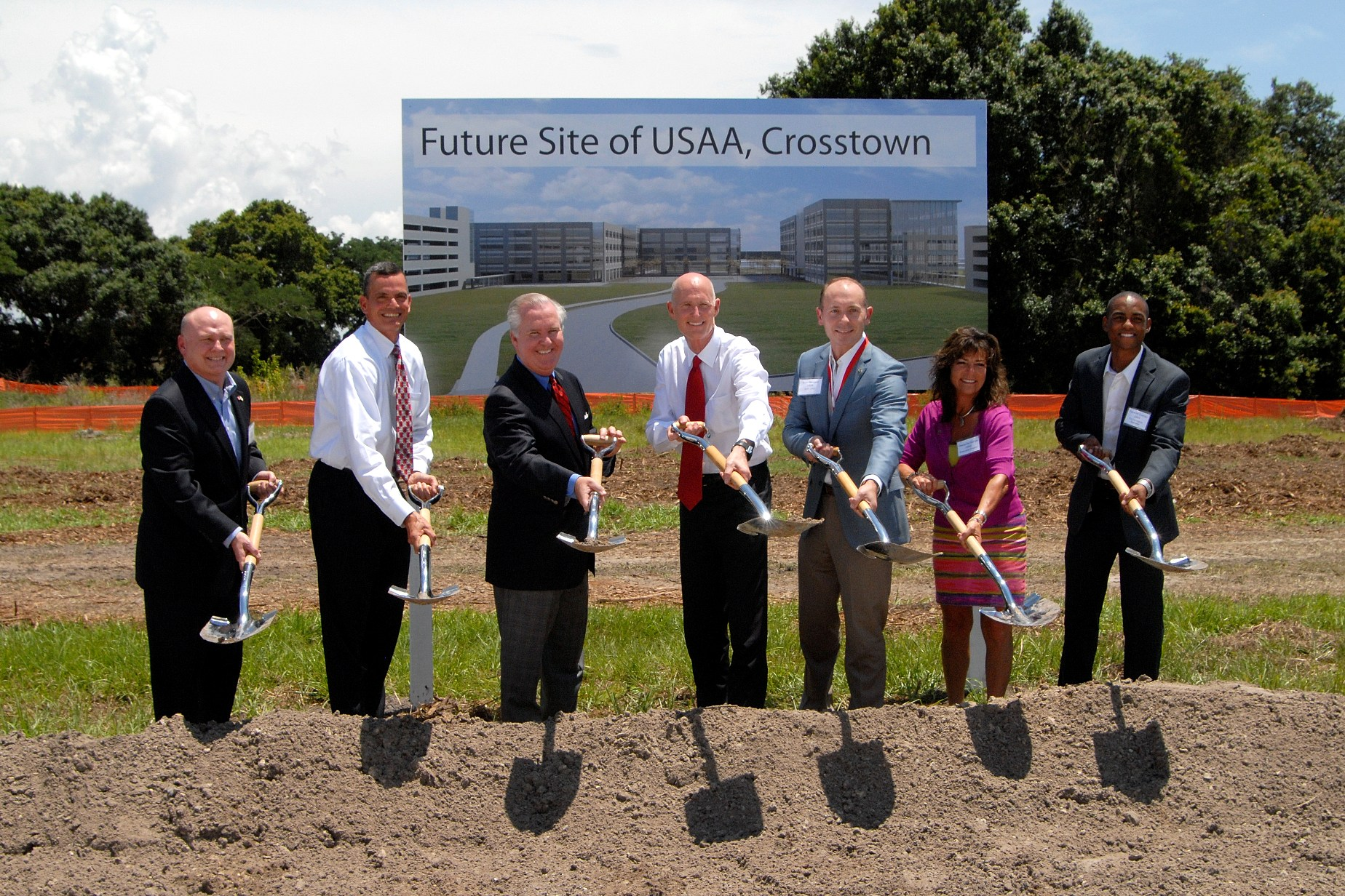USAA Breaks Ground on New Campus