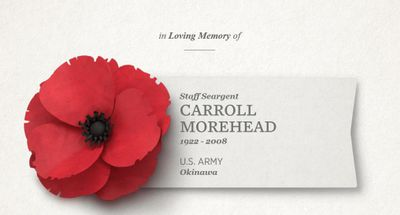 Show Your Support This Memorial Day by Dedicating a Poppy