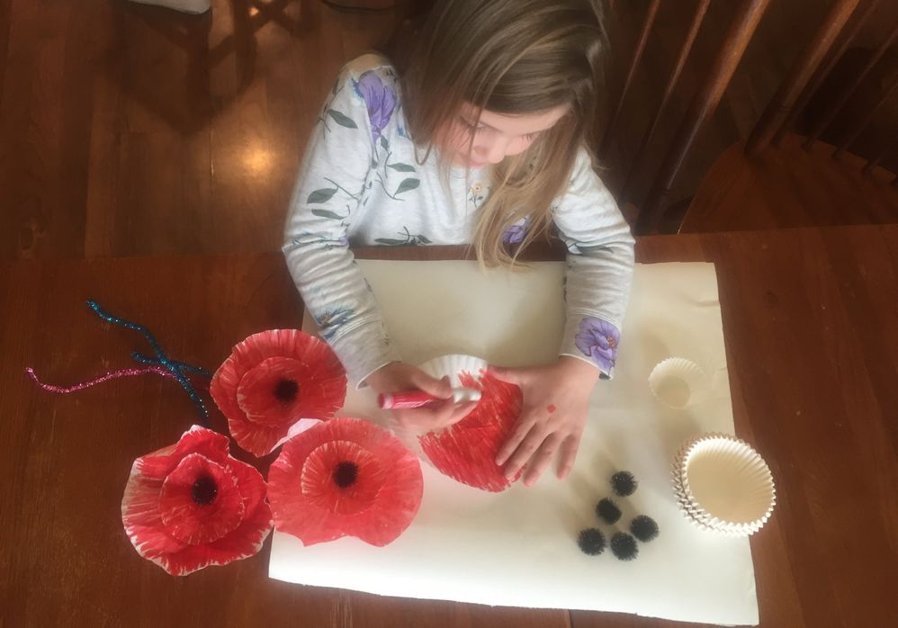 Creating a Poppy to Share the Meaning of Memorial Day with Children