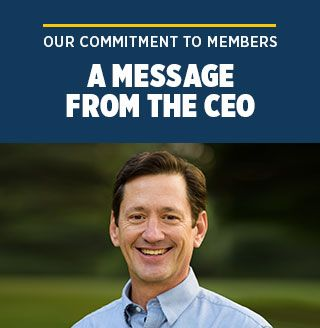 Message from New CEO