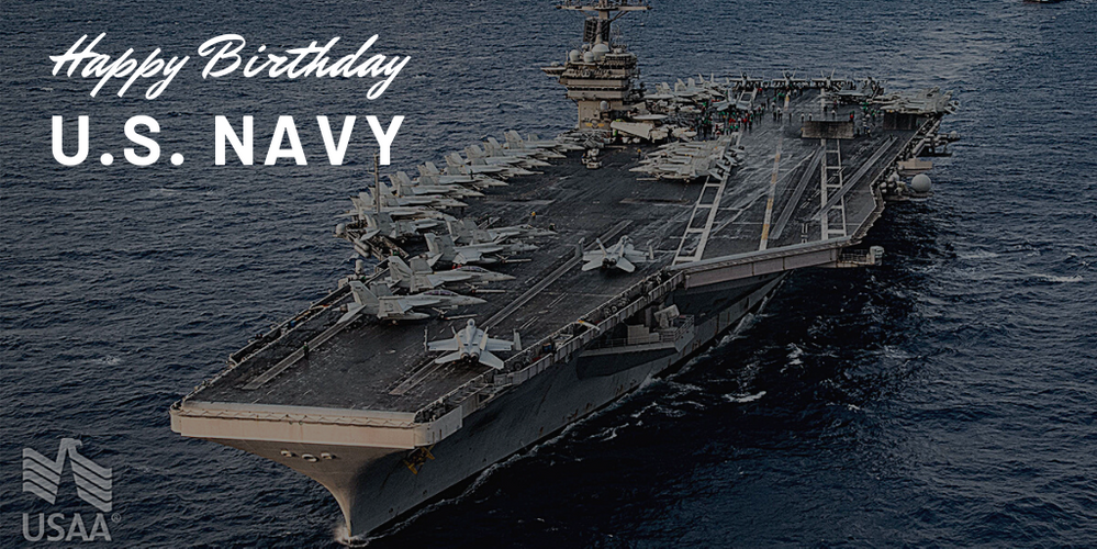 Happy 245th Birthday to The United States Navy