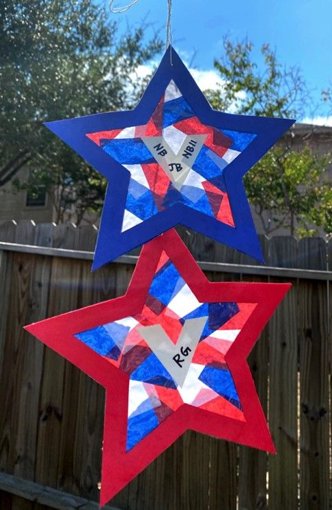 Veterans Day Craft Suncatcher USAA Commnity.jpg