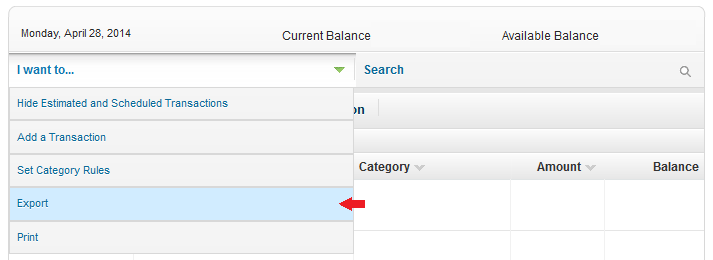 HOW TO Download USAA Account Activity to Microsoft USAA – Usaa Budget Worksheet