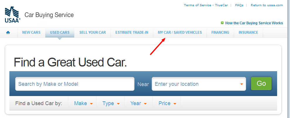 Usaa Used Car Buying Service
