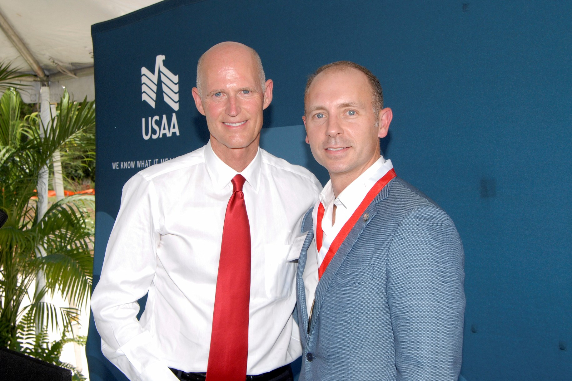 Gov. Scott and Shon Manasco