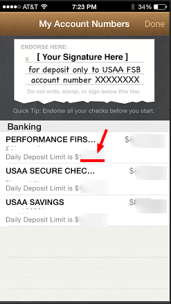 Usaa mobile deposit hold