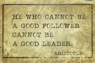 Be a Great Leader, Be a Great Follower - USAA Member Community