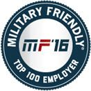 USAA Ranked a Top 10 2016 Military Friendly® Employer by Victory Media