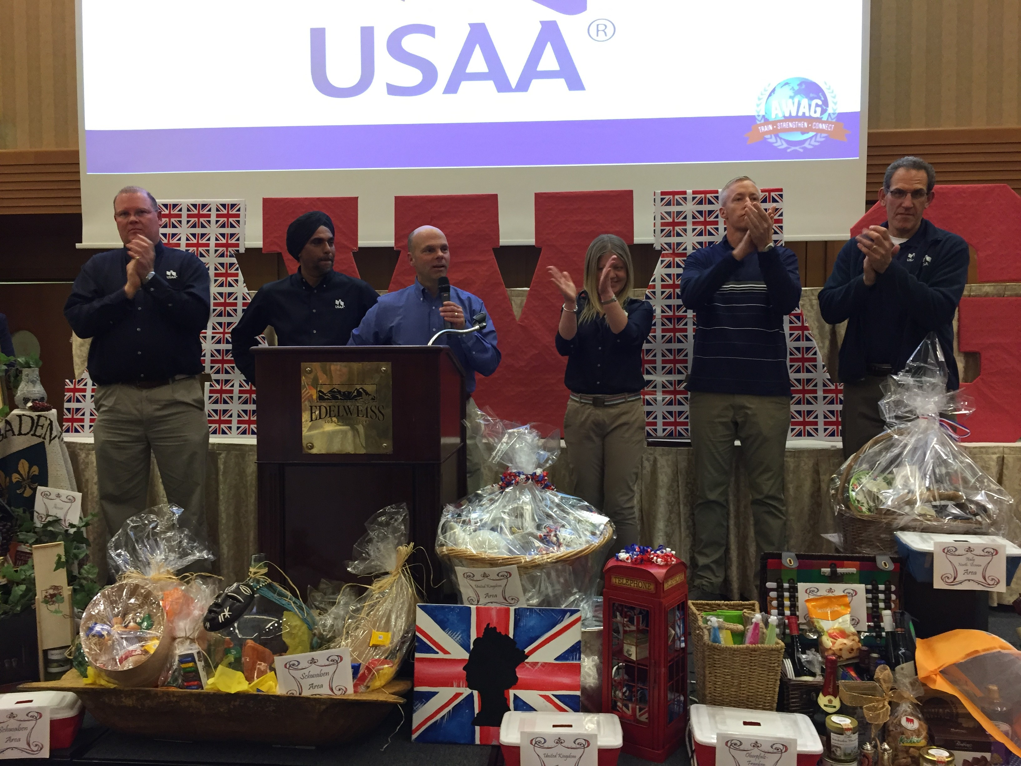 The USAA Military Affairs and London Teams Say Tha ...