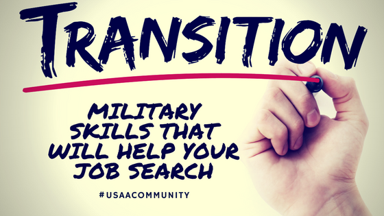 Military Skill Sets that Help in the Job Search