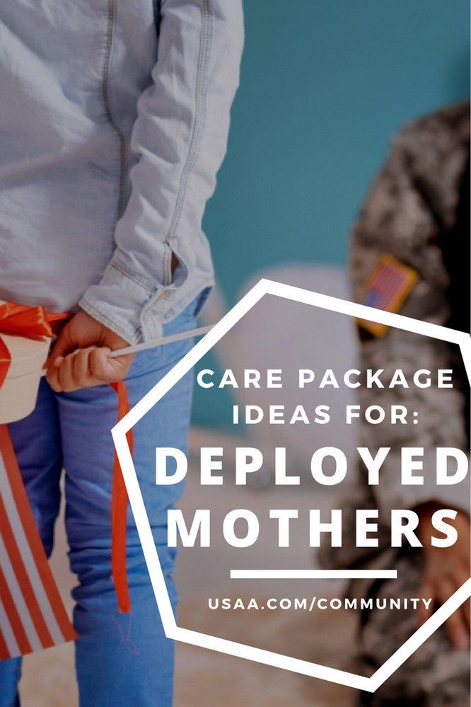 Mother's Day Ideas for a Deployed Mama