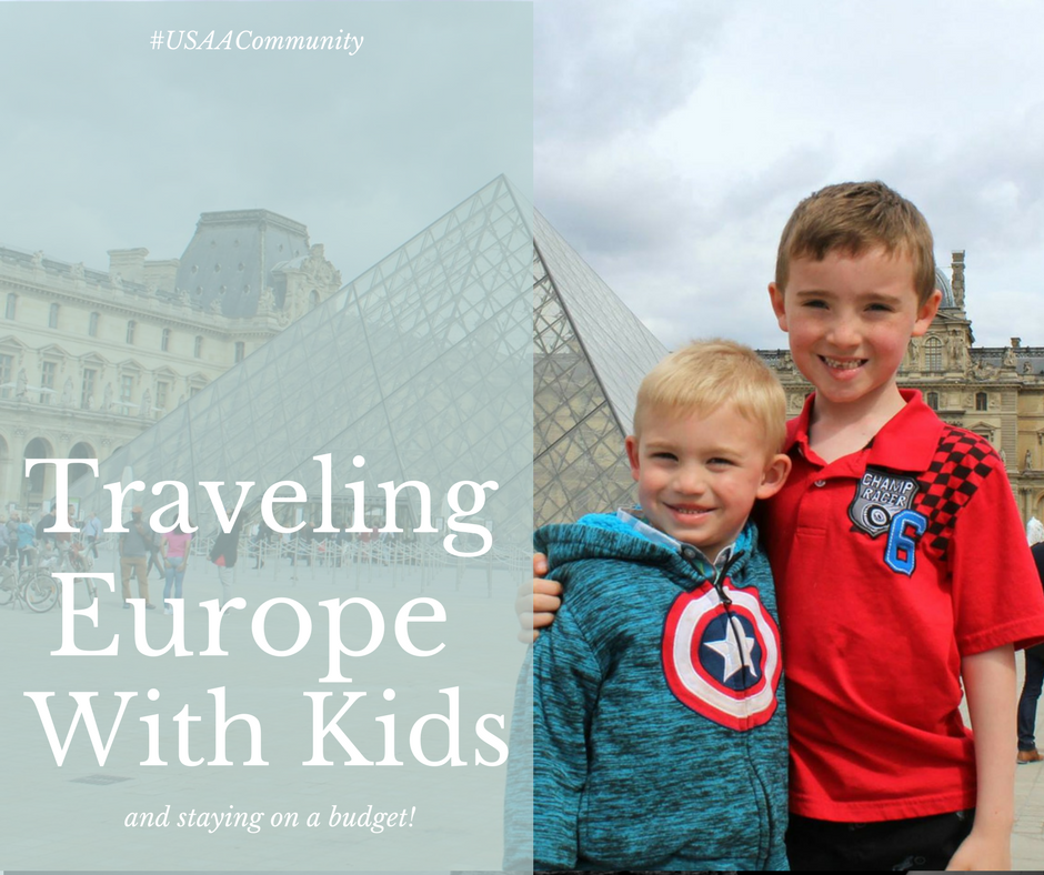 Traveling Europe with Kids on a Budget