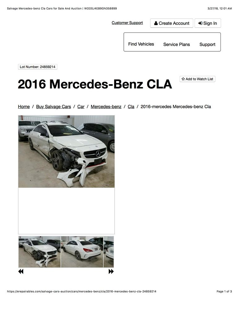 Salvage Mercedes-benz Cla Cars for Sale And Auction _ WDDSJ4EB9GN358899.jpg
