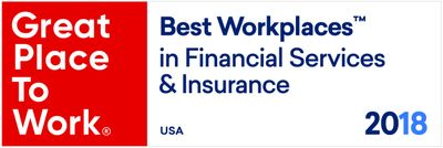 USAA Named One of the Best Workplaces in Financial Services & Insurance by Great Place to Work® and Fortune