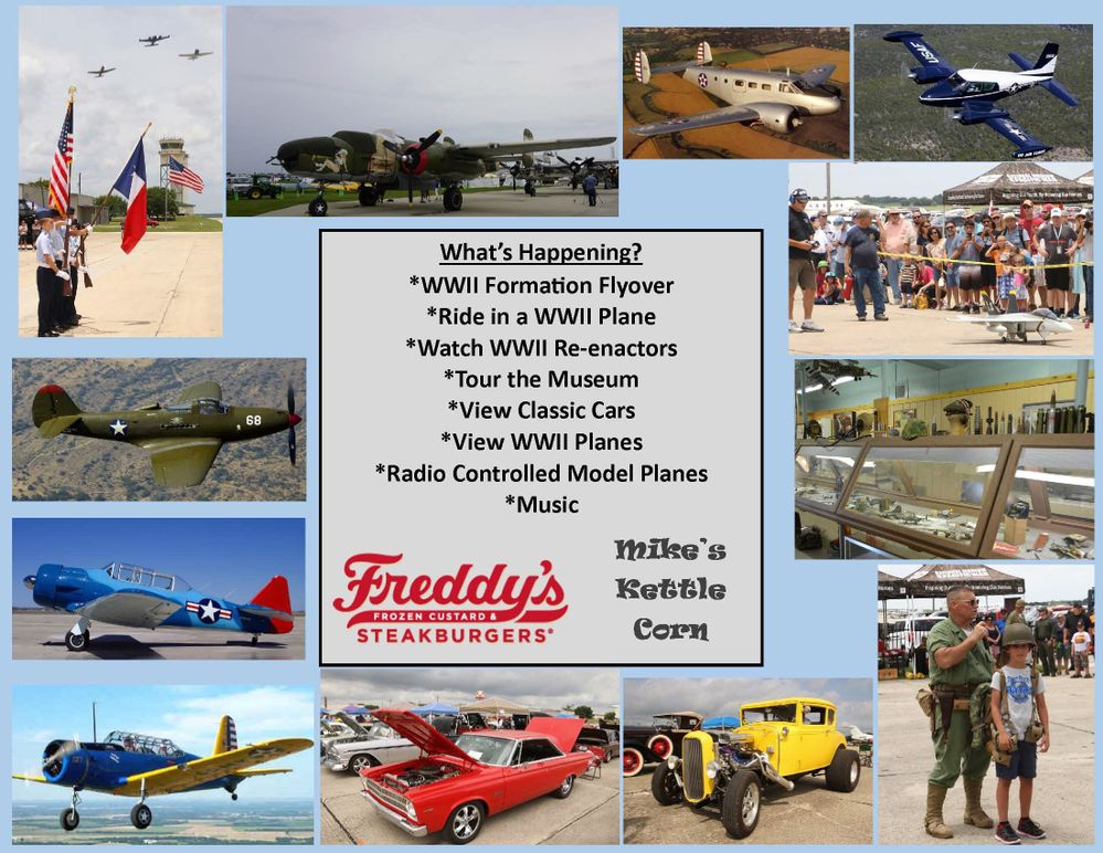 Car and Plane Show Coming to San Marcos, TX Regional Airport