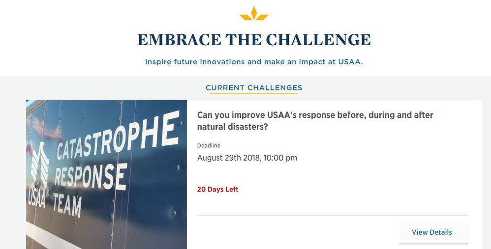 USAA Labs Releases Innovation Challenge for Members