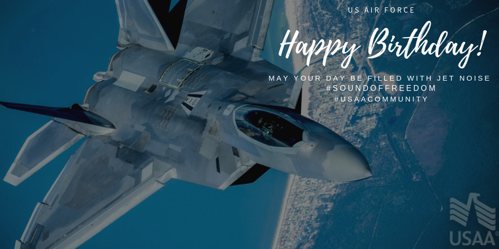 Happy Birthday to The US Air Force!