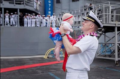 Happy Birthday to the US Navy from Navy Spouses