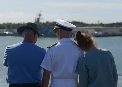 Navy Birthday Tiger Cruise with Dad and Daughter Tricia Spencer.jpg
