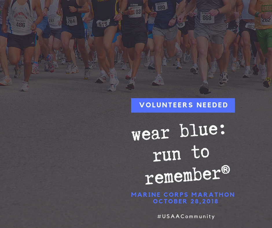 wear blue: run to remember, DC Area Volunteers Needed for Living Memorial
