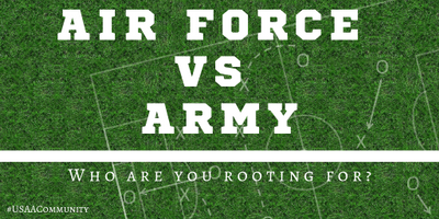 Air Force at Army – Who are you rooting for?