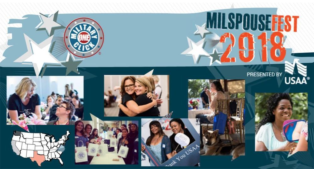 #MilSpouseFest2018 presented by USAA visits Fort Bragg and Camp Lejeune, NC