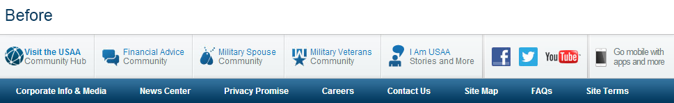 Communities on usaa.com are changing