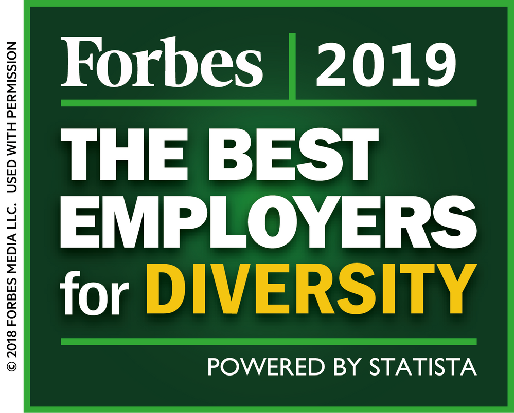 USAA Makes Forbes' Best Employers for Diversity Second Year in a Row