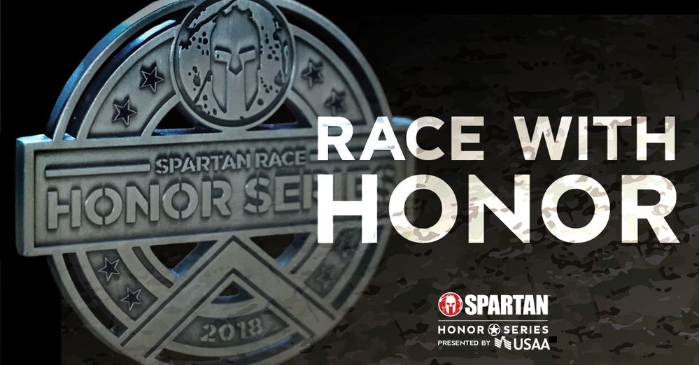 Race with Honor – Join a Spartan Race!
