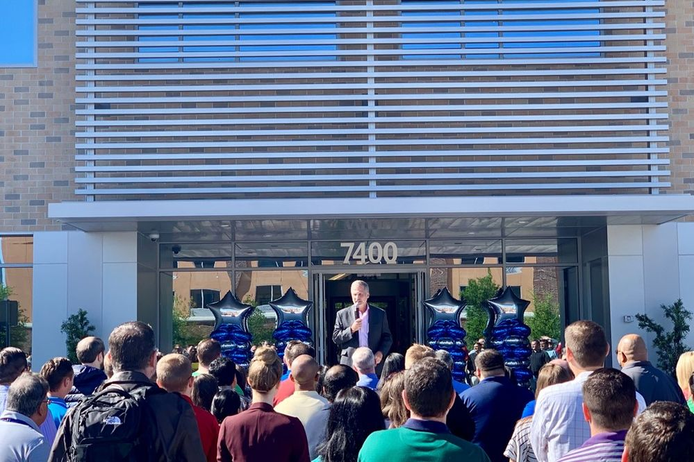 USAA Expands, Opens New Buildings on Plano and Tampa Campuses