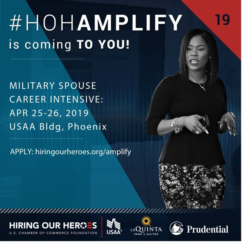 Military Spouses - AMPLIFY Your Career!
