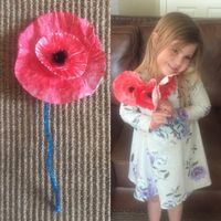 Creating a Poppy Helps Share the Meaning of Memorial Day