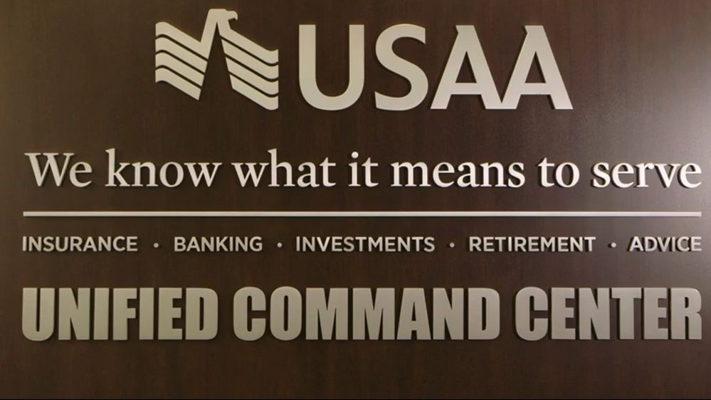 Ribbon Cutting for USAA's Newly Renovated Unified Command Center