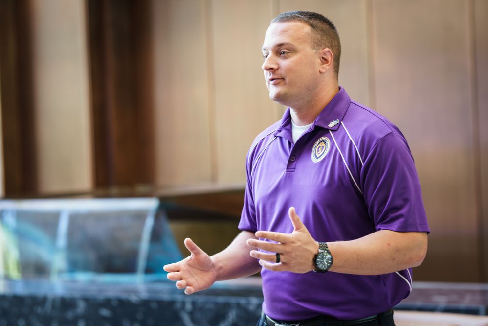 Purple Heart Day gives USAA Employee, Veteran a Chance to Share His Story