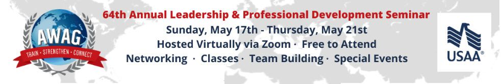AWAG Annual Leadership and Professional Development Seminar 5/17