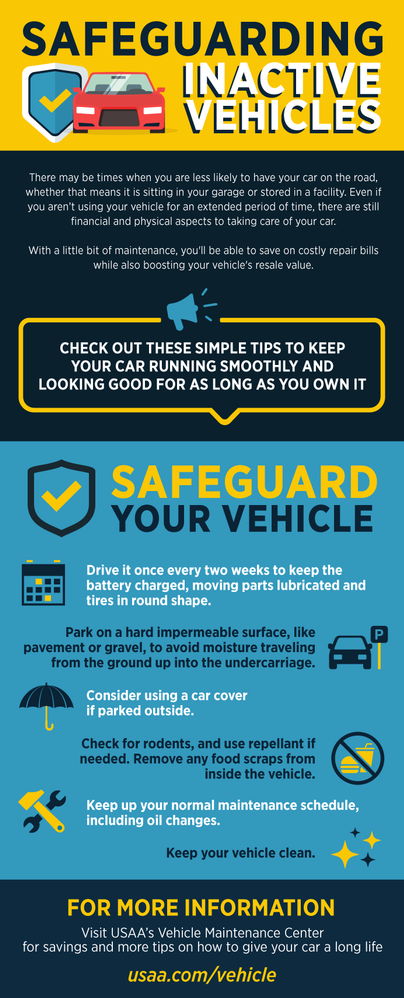 6 Tips for Safeguarding Inactive Vehicles