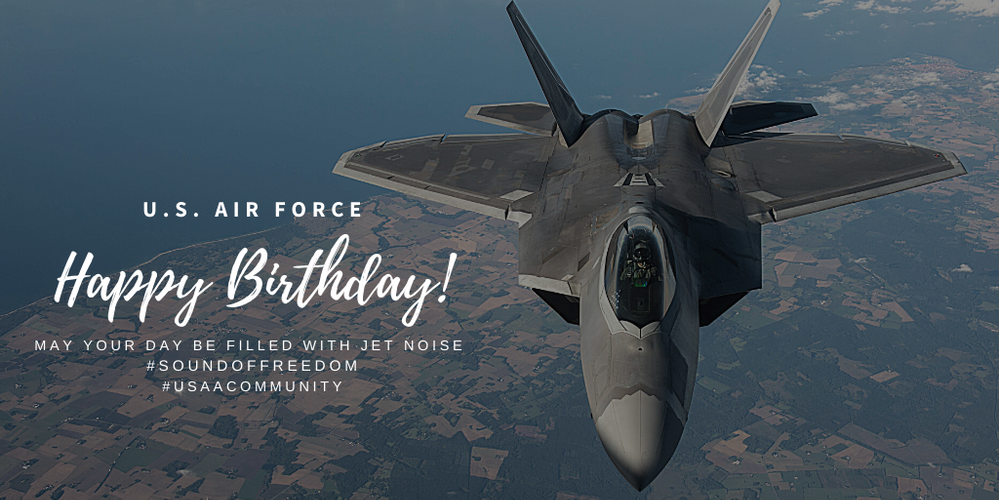 Happy 73rd Birthday to The United States Air Force