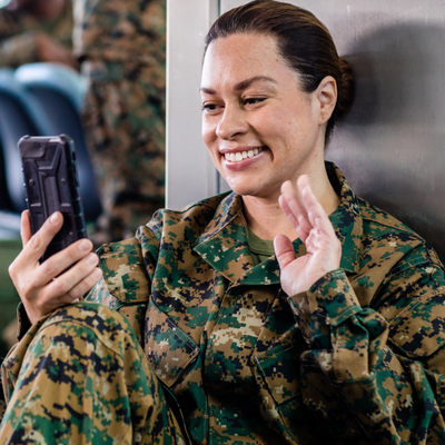 Staying Connected with Your Deployed Spouse During the Holidays
