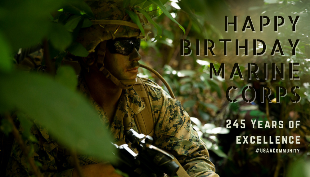 Happy 245th Birthday to the U.S. Marine Corps